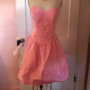 Betsey Johnson sweetheart neckline prom dress